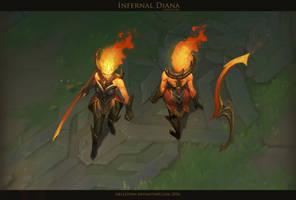 Infernal Diana by Hellstern
