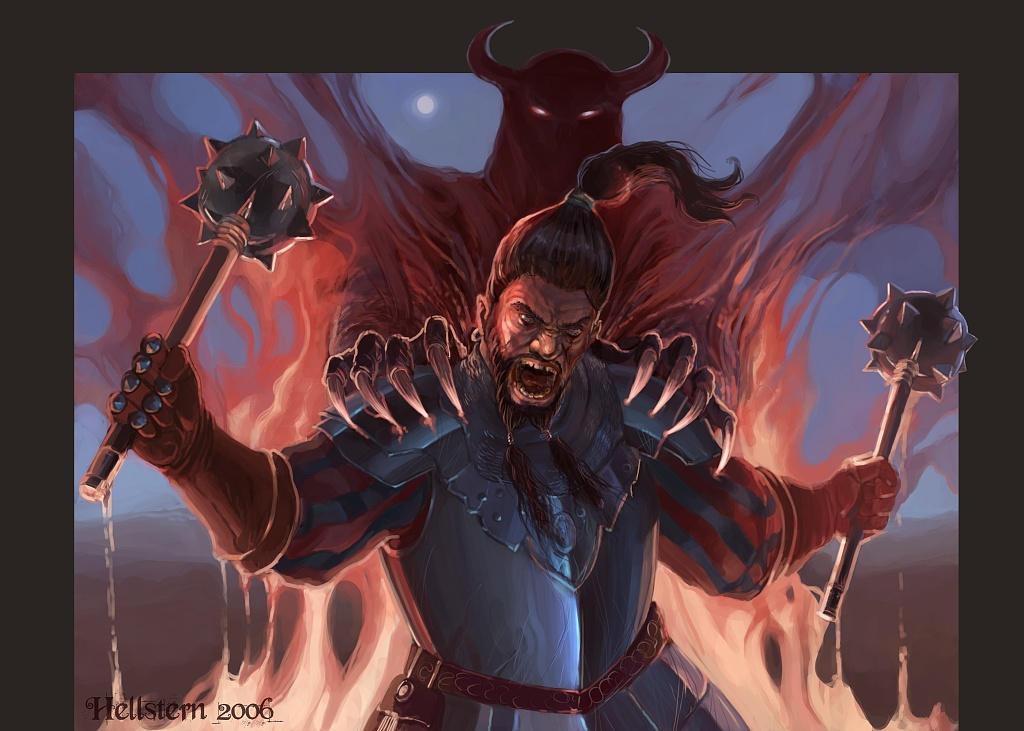 Demon inside by Hellstern