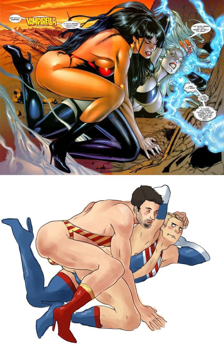 Hawkeye Initiative by TheCowsMoo