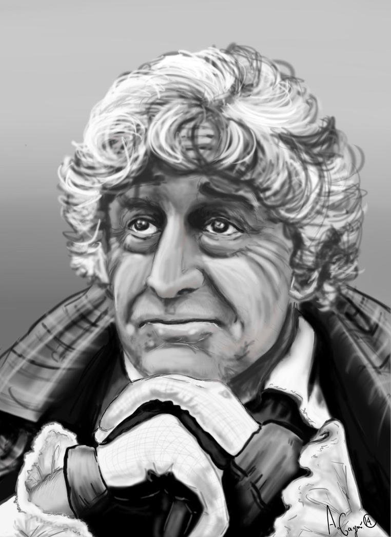 3rd Doctor by lionheartfreedom