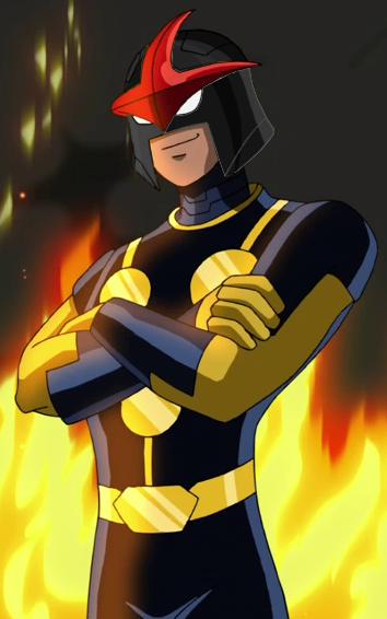 Nova black helmet by iscreamer1 on deviantart - Nova ultimate spider man ...
