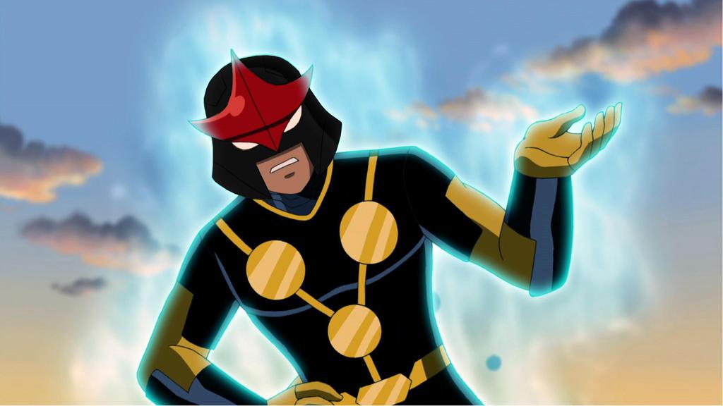 Nova black helmet 2 by iscreamer1 on deviantart - Nova ultimate spider man ...