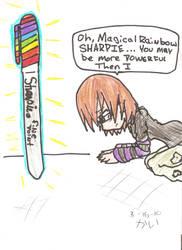 RAINBOW SHARPIE by Kais-a-ninja