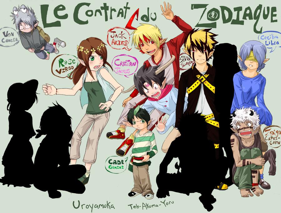 Le Contrat du Zodiaque by Uroyamuka