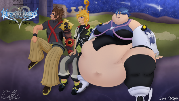 Kingdom Hearts BBS Fat Aqua Remix 01: StarGazing
