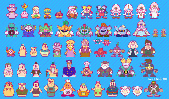 Kirby anime, 25th anniversary style