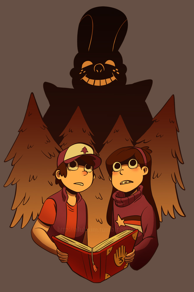 Gravity Falls - A Watchful Eye by Aluhnim