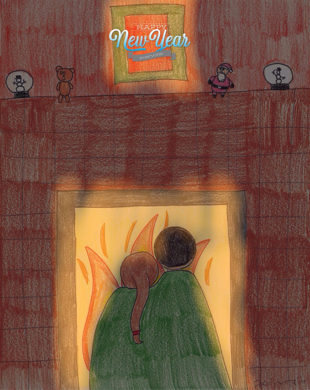 By the Fireside by Feraligatr66
