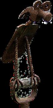 Bird Sculpture (PNG)