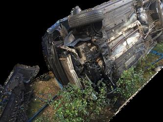 Car Crash (a) (PNG)