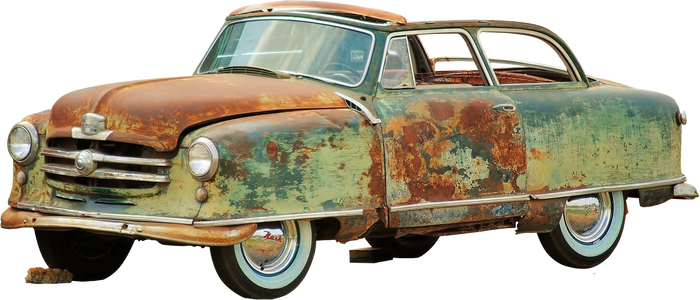 Corrode car (PNG)