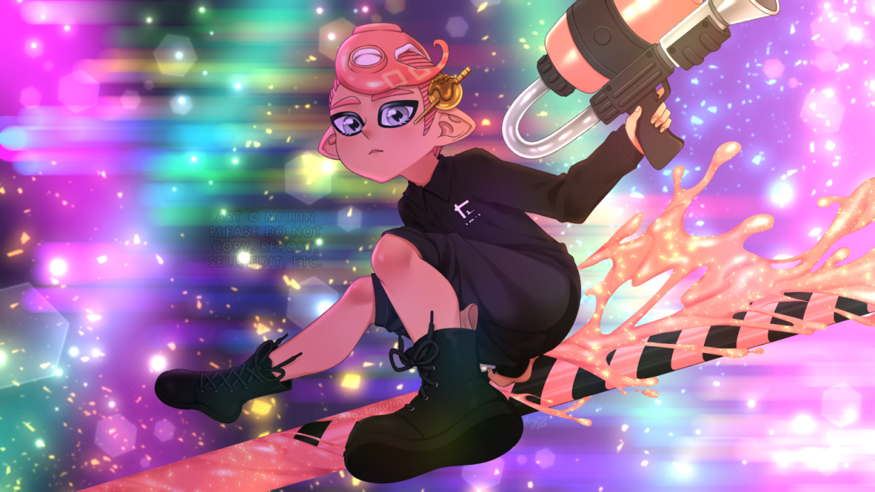 Octo Expansion Complete By Miujin On Deviantart