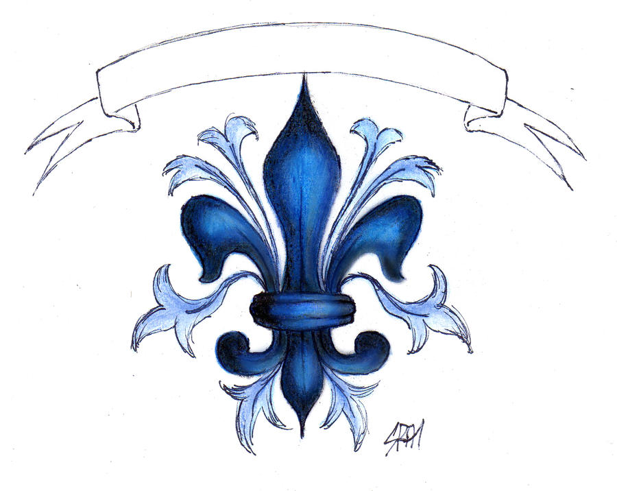 fleur de lys lis flower by malvawolf on deviantart. Black Bedroom Furniture Sets. Home Design Ideas