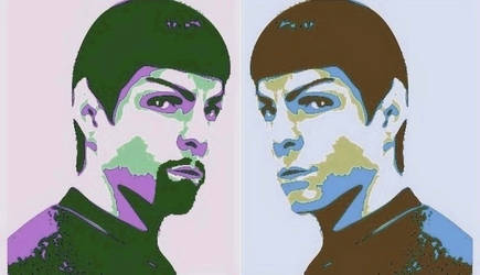 Mirror Universe Spock 2.0 by NeonGlo