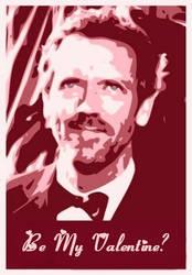 Hugh Laurie Valentine