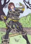 Black Widow: Snake Hunting