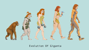 Giganta Evolution by Hercu-Liz