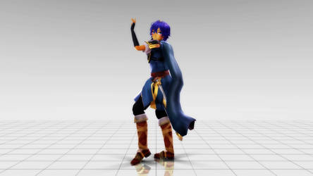 [MMD] Marth Physics Test by MelissaChao