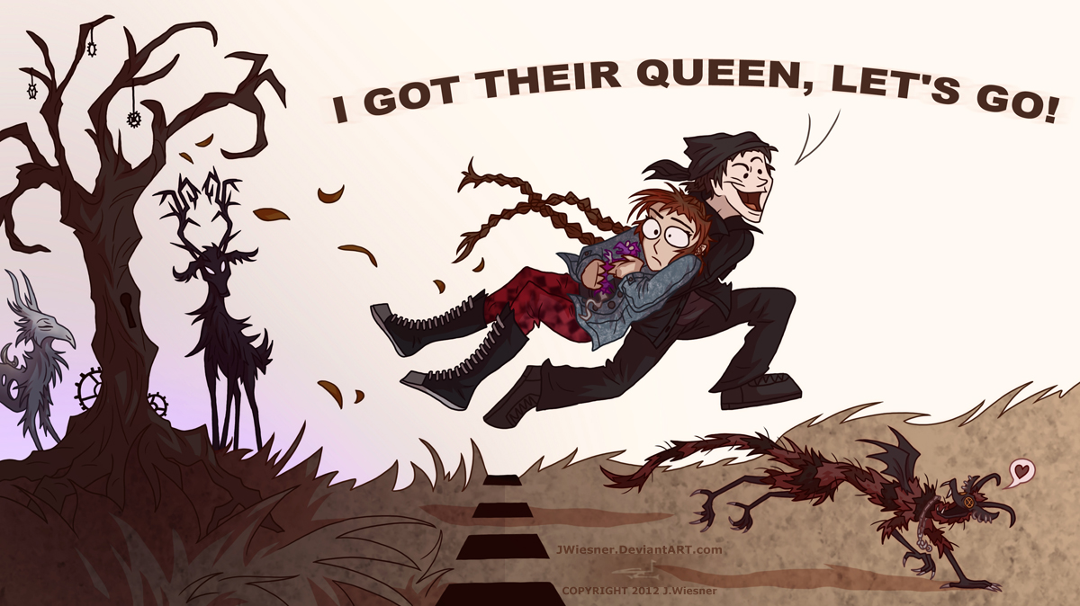 I GOT THEIR QUEEN by JWiesner