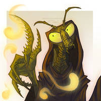 The Mantis Monk by JWiesner