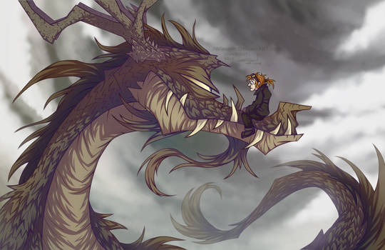 The man who wished to become a dragon pilot