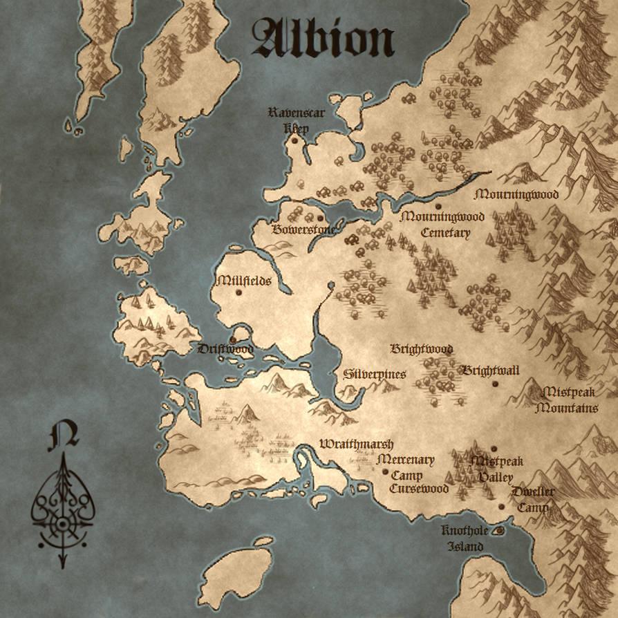Fable III Illuminated Map by IsBreaLiomCaife on DeviantArt