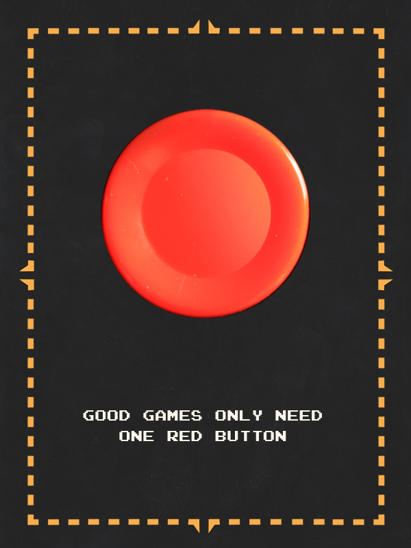 One Red Button by pacalin