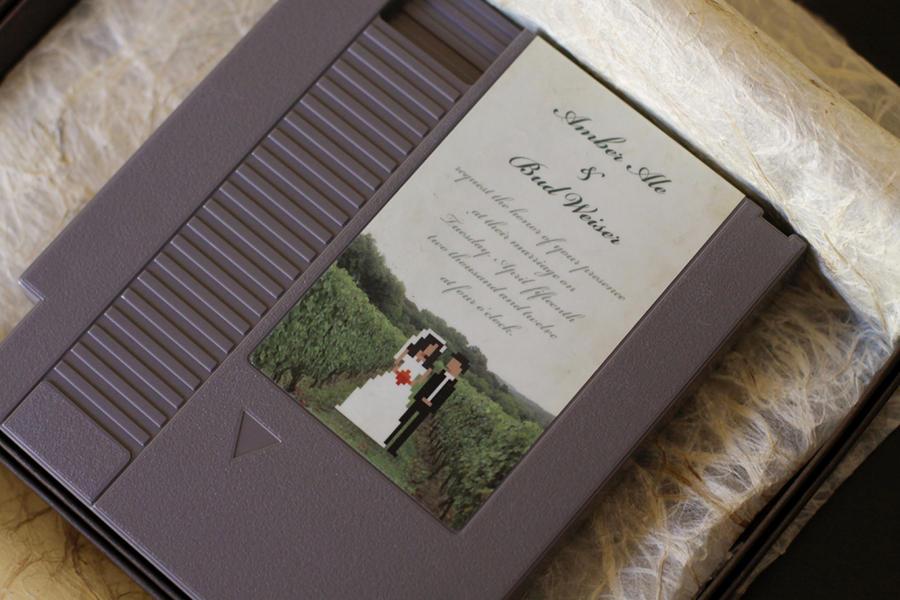 8-Bit Vineyard Wedding by pacalin