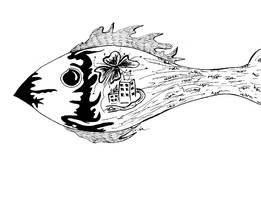 Inside little fish by Gordjia