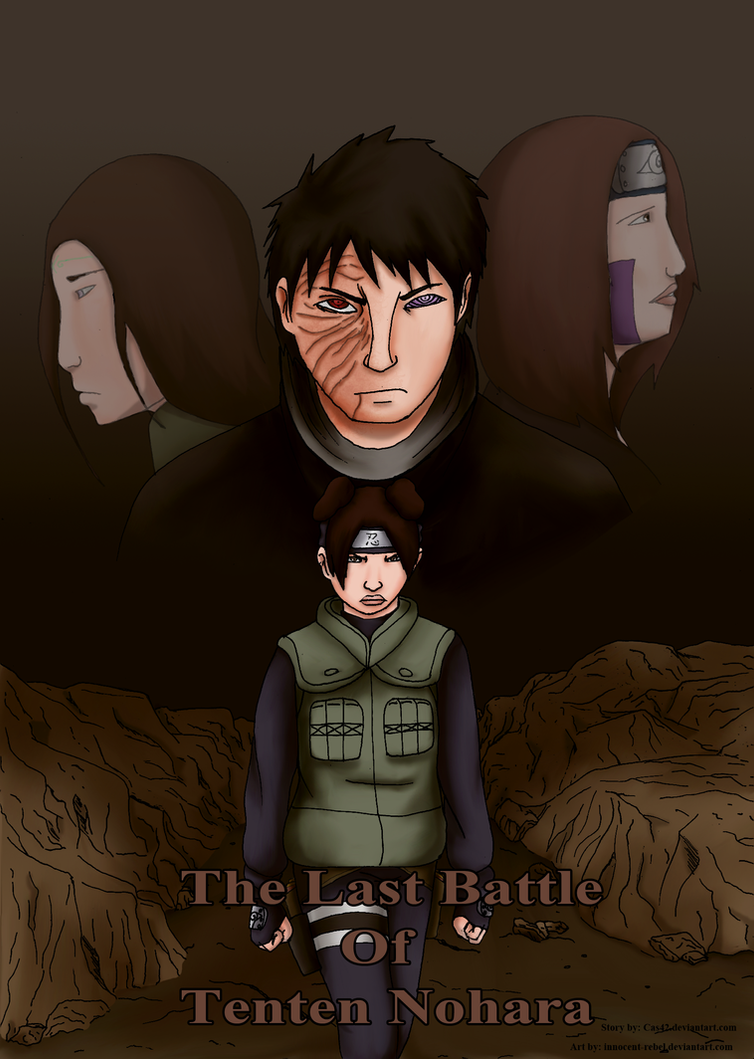 Com: The Last Battle of Tenten Nohara Cover by innocent-rebel