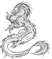 Dragon by grimzee
