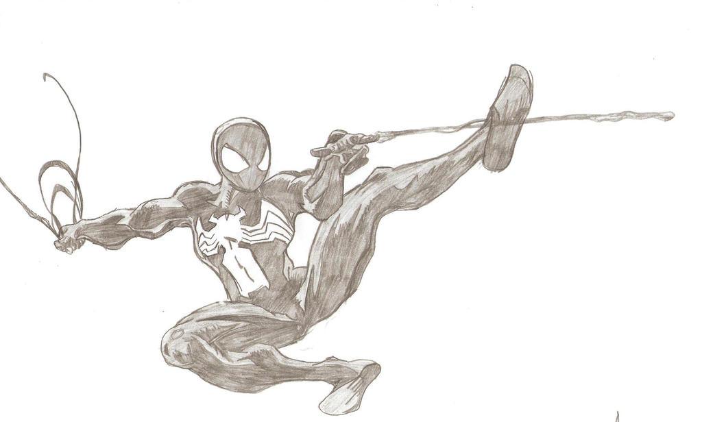 Ultimate Spiderman Black Suit Ultimate Spiderman  black