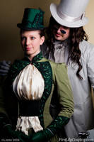 Mina and Vlad - Dracula by FireLilyCosplay