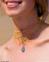 Deedlit Necklace Close Up by FireLilyCosplay