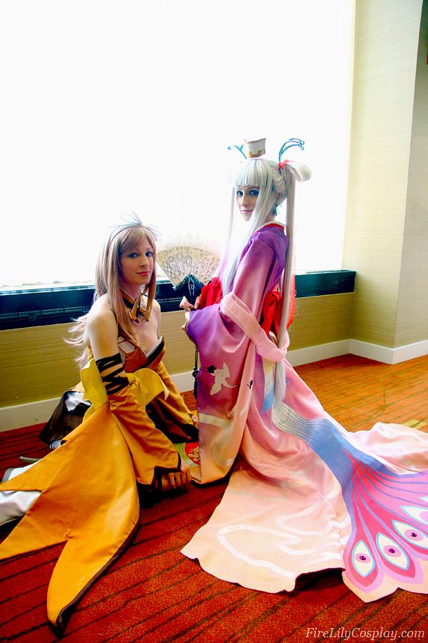 Kureha and Houmei - Shining Wind by FireLilyCosplay