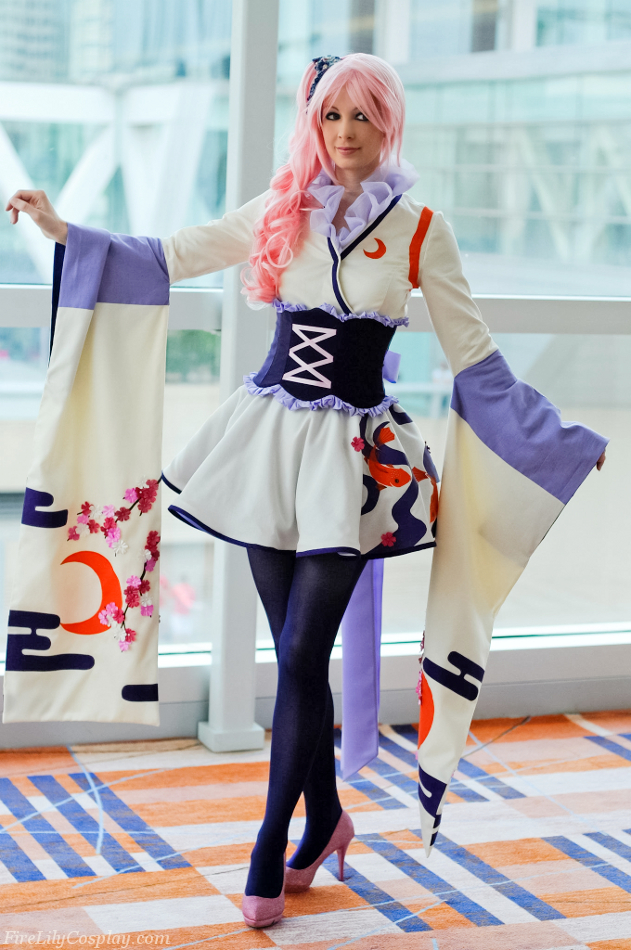 Spirit of Sakura Luka - Vocaloid by FireLilyCosplay