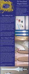Foam Board Weapon Tutorial by FireLilyCosplay