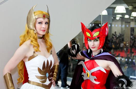 She-Ra and Catra