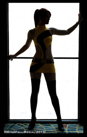 Silk Spectre Lightbox by FireLilyCosplay