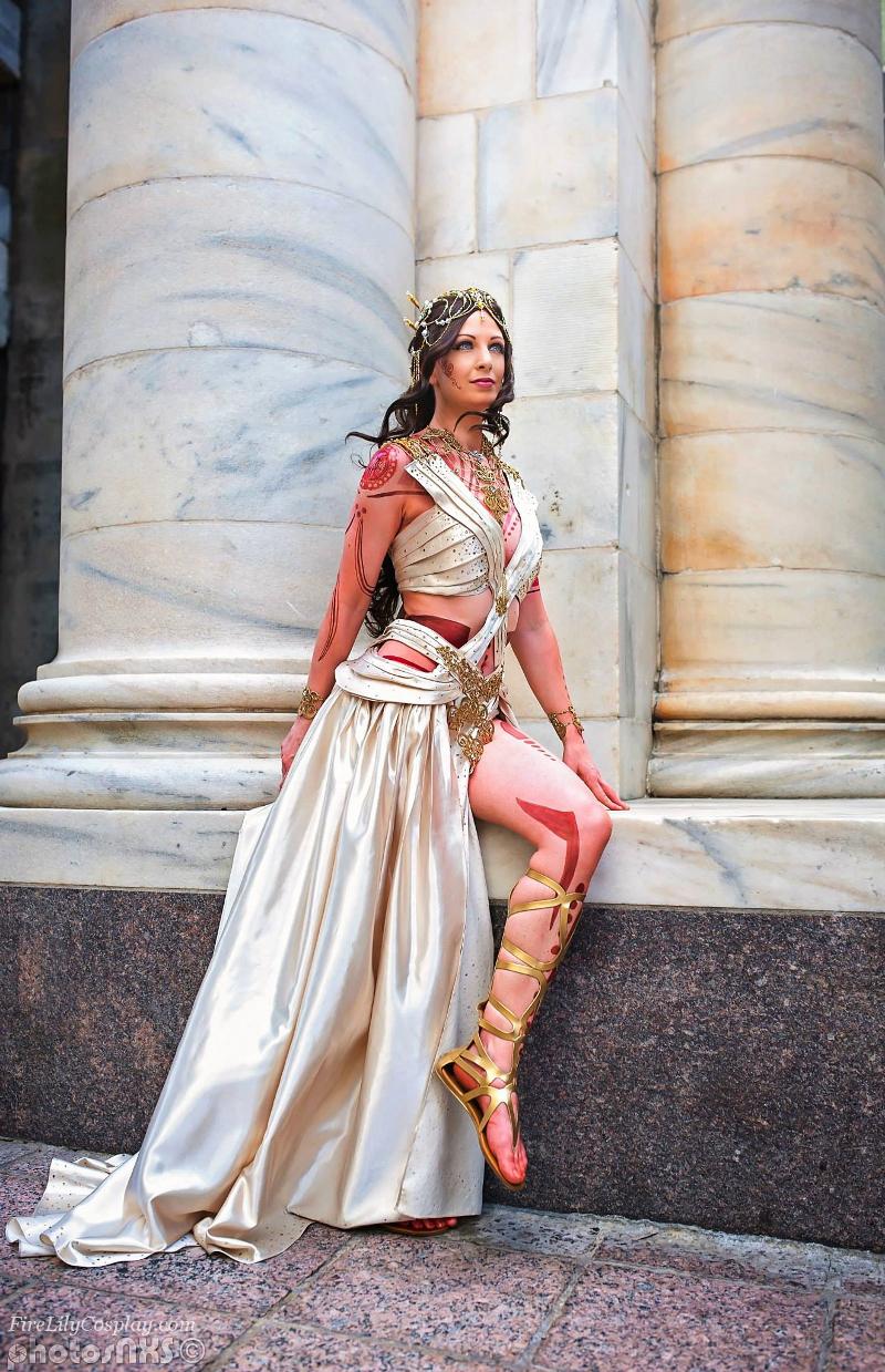 Dejah Thoris - Zodanga Wedding Dress by FireLilyCosplay