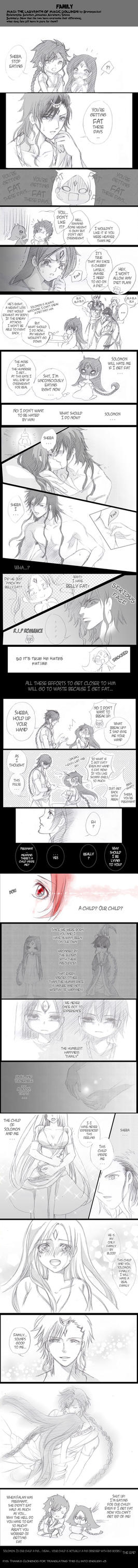 FAMILY (Doujinshi MAGI: The labyrinth of magic) by bronze11