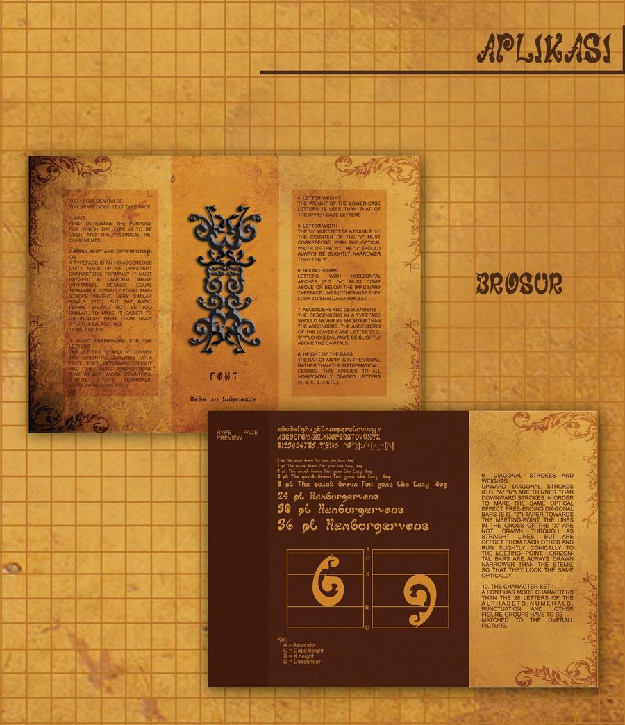 brosur batik font by terangbintang on DeviantArt