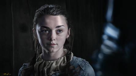 Arya Stark by Sathoryn