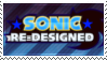 Sonic Re-Designed (Fan-Game) Stamp by SonicRedesigned