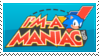 I'm A Sonic Maniac! - Stamp by SonicRedesigned