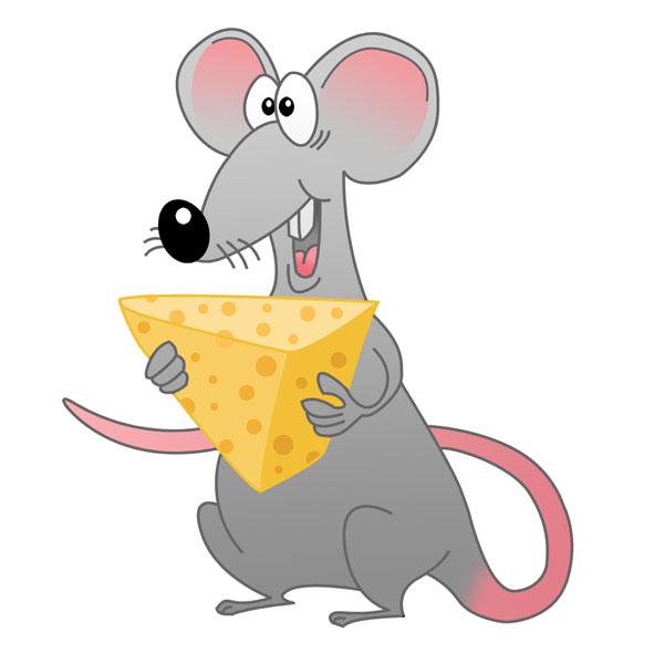 Goofy Rat Cartoon by N...