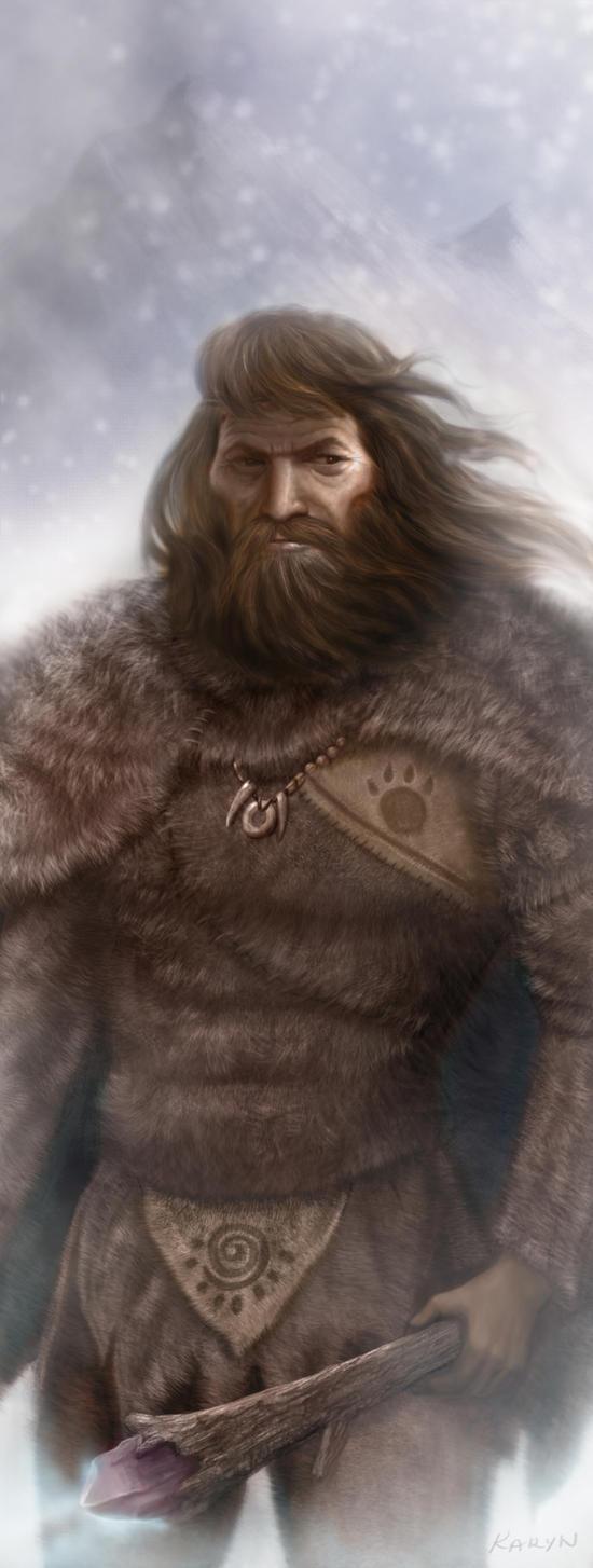 Cro Magnon King by Nyrak