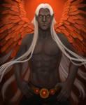 Winged Dark Elf