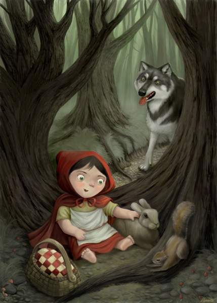 Little Red Riding Hood by Nyrak