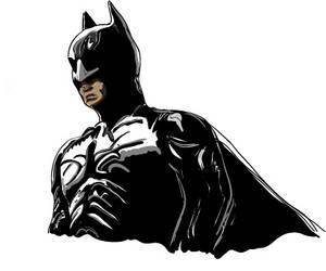 Batman - Wacom rendering by Bobo1972